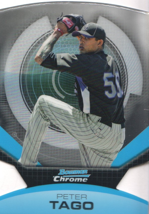 2011 Bowman Chrome Futures #16 Peter Tago