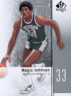 2011-12 SP Authentic #10 Magic Johnson