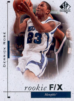 2011-12 SP Authentic #69 Derrick Rose FX