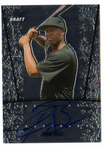 2011 Leaf Metal Draft #JB4 Josh Bell
