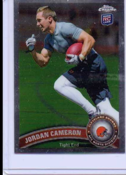 2011 Topps Chrome #58 Jordan Cameron RC