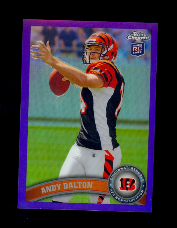 2011 Topps Chrome Purple Refractors #51 Andy Dalton