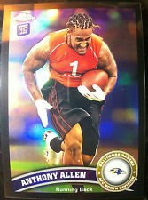 2011 Topps Chrome Black Refractors #118 Anthony Allen