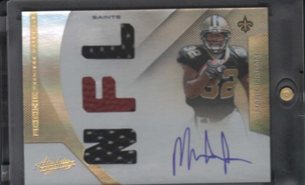 2011 Absolute Memorabilia #221 Mark Ingram RPM AU/199 RC