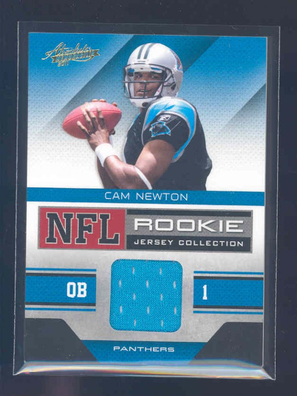 2011 Absolute Memorabilia Rookie Jersey Collection #7 Cam Newton