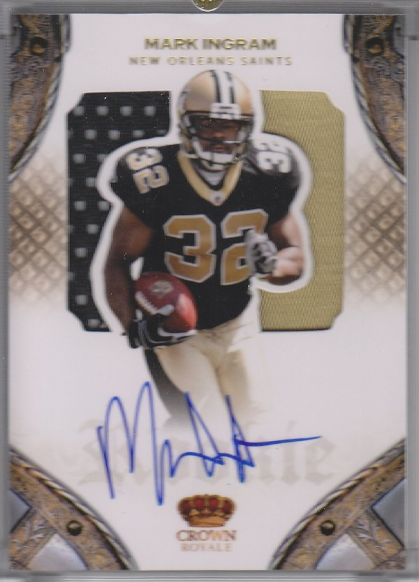 2011 Crown Royale #217 Mark Ingram JSY AU/199 RC