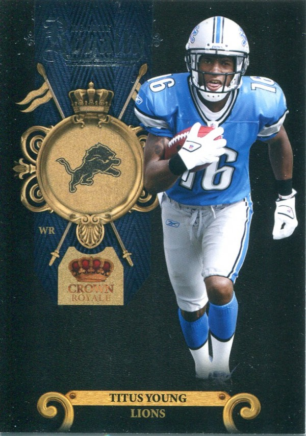 2011 Crown Royale Rookie Royalty #3 Titus Young