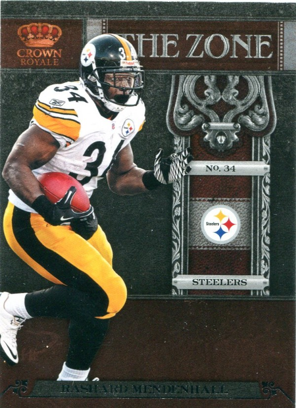 2011 Crown Royale The Zone #12 Rashard Mendenhall