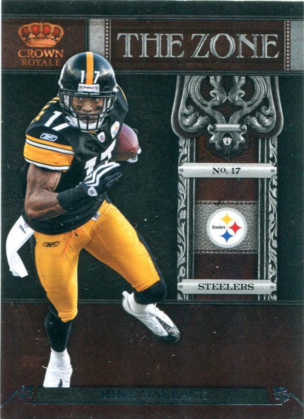 2011 Crown Royale The Zone #14 Mike Wallace