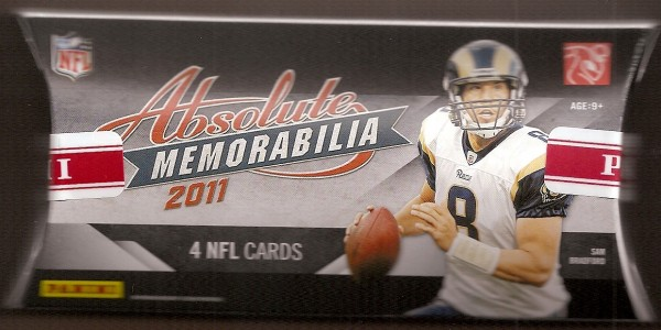 2011 Absolute Memorabilia Football Hobby Pack