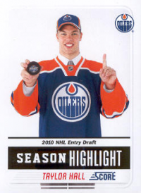 2011-12 Score #1 Taylor Hall SH front image