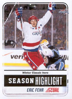 2011-12 Score #11 Eric Fehr SH
