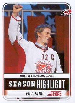 2011-12 Score #13 Eric Staal SH