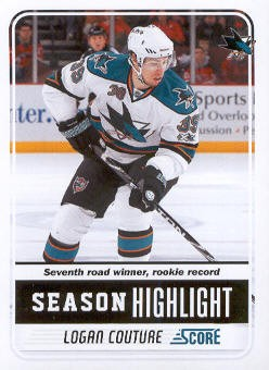 2011-12 Score #18 Logan Couture SH