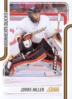 2011-12 Score #49 Jonas Hiller