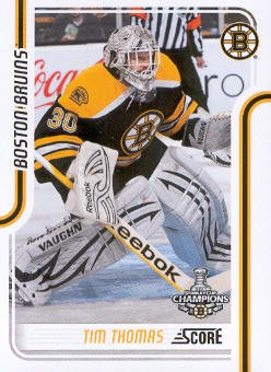 2011-12 Score #64 Tim Thomas