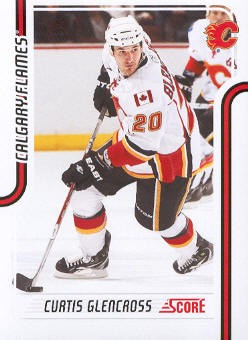 2011-12 Score #82 Curtis Glencross