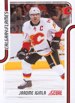 2011-12 Score #83 Jarome Iginla