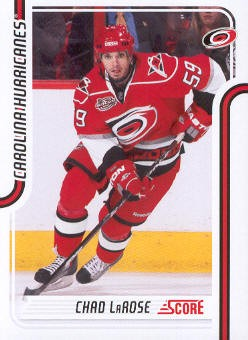 2011-12 Score #101 Chad LaRose