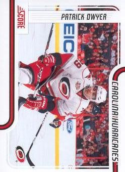 2011-12 Score #102 Patrick Dwyer