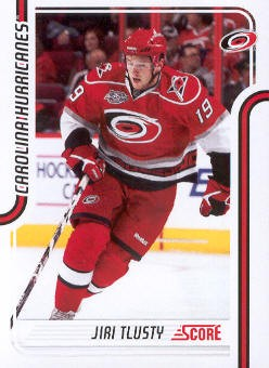 2011-12 Score #105 Jiri Tlusty