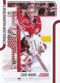 2011-12 Score #109 Cam Ward