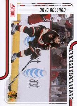 2011-12 Score #111 Dave Bolland