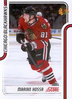 2011-12 Score #113 Marian Hossa
