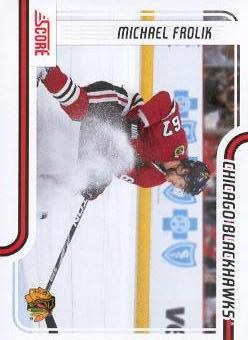 2011-12 Score #114 Michael Frolik