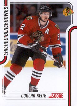 2011-12 Score #122 Duncan Keith