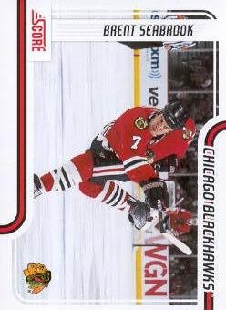 2011-12 Score #123 Brent Seabrook