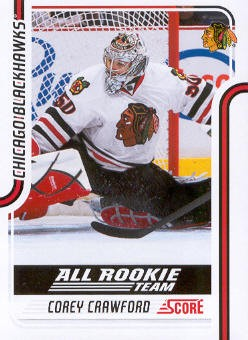 2011-12 Score #125 Corey Crawford