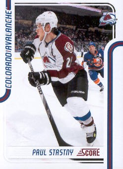 2011-12 Score #127 Paul Stastny
