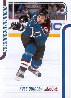 2011-12 Score #138 Kyle Quincey
