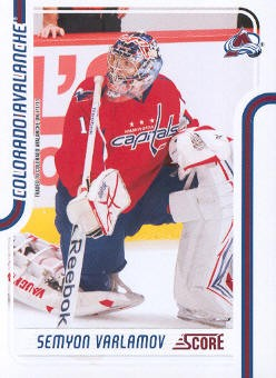 2011-12 Score #139 Semyon Varlamov