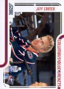 2011-12 Score #143 Jeff Carter