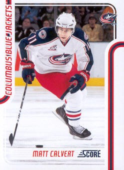 2011-12 Score #144 Matt Calvert