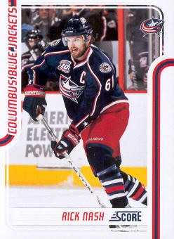 2011-12 Score #146 Rick Nash
