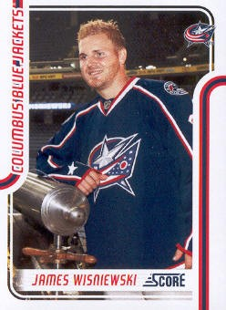 2011-12 Score #149 James Wisniewski