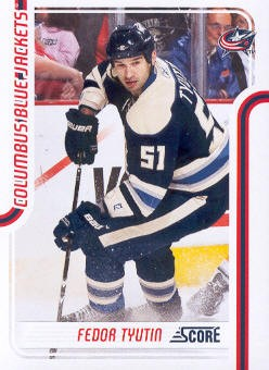 2011-12 Score #152 Fedor Tyutin
