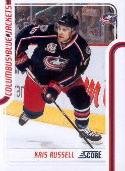 2011-12 Score #153 Kris Russell
