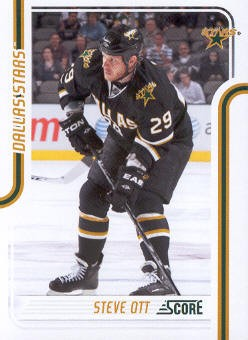 2011-12 Score #160 Steve Ott