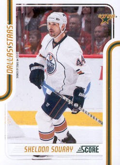 2011-12 Score #165 Sheldon Souray
