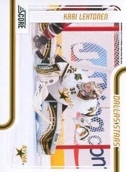 2011-12 Score #169 Kari Lehtonen