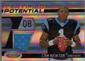 2011 Certified Certified Potential Materials #7 Cam Newton