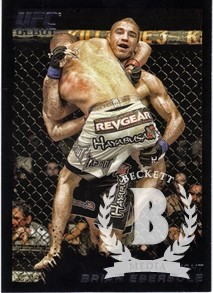 2011 Topps UFC Moment of Truth Black #66 Brian Ebersole