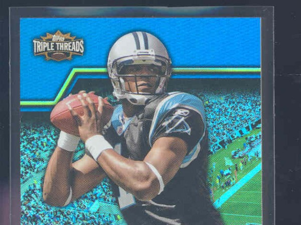 2011 Topps Triple Threads Unity Relics #TTUSR4 Cam Newton