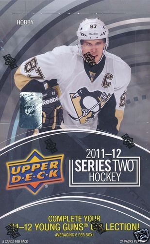 2011-12 Upper Deck Hockey Hobby Box Series 2