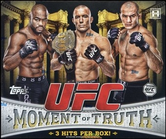 2011 Topps UFC Moment of Truth MMA Hobby Box