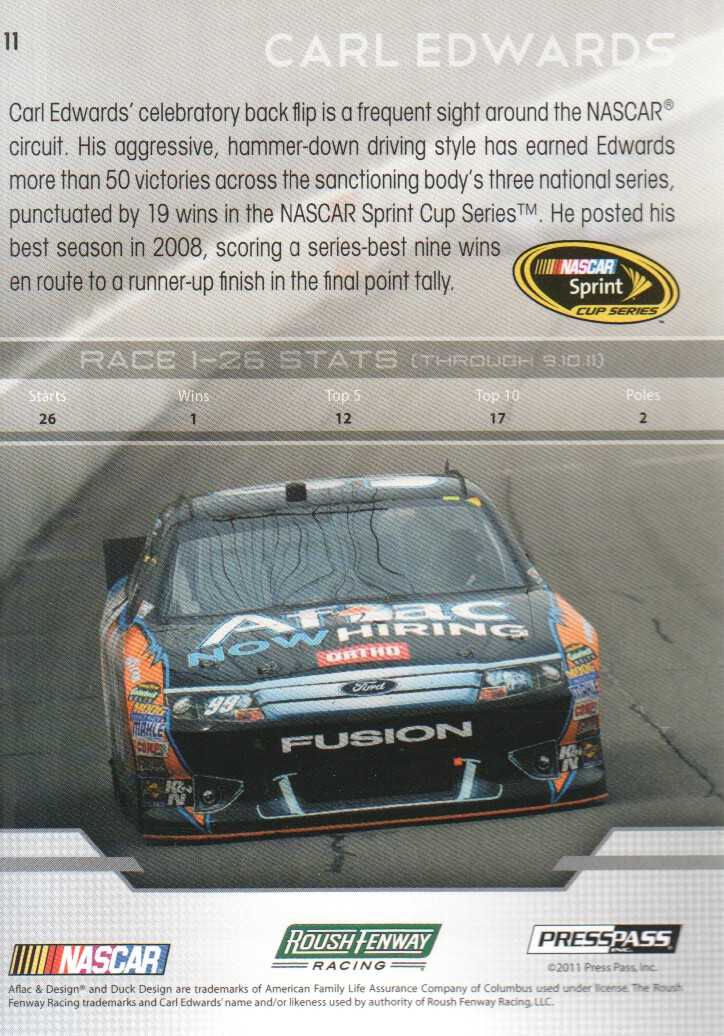 2012-Press-Pass-Parallels-NASCAR-Racing-Cards-Pick-From-List thumbnail 9